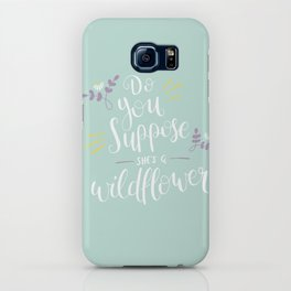 Do you suppose she's a wildflower? iPhone Case