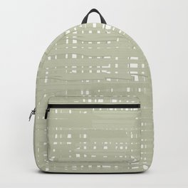 Green straw background Backpack