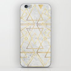 wire gOld triangle iPhone & iPod Skin