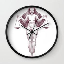 Return to Balance Wall Clock