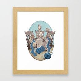 Fate's String Framed Art Print