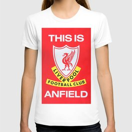This is Anfield - Liverpool Classic Logo T-shirt
