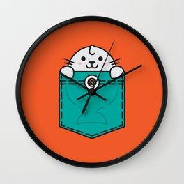 Pocket Sea Lion Wall Clock