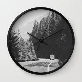 ROAD TRIP / Canada Wall Clock
