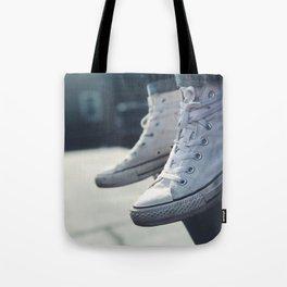 All White Chucks Tote Bag