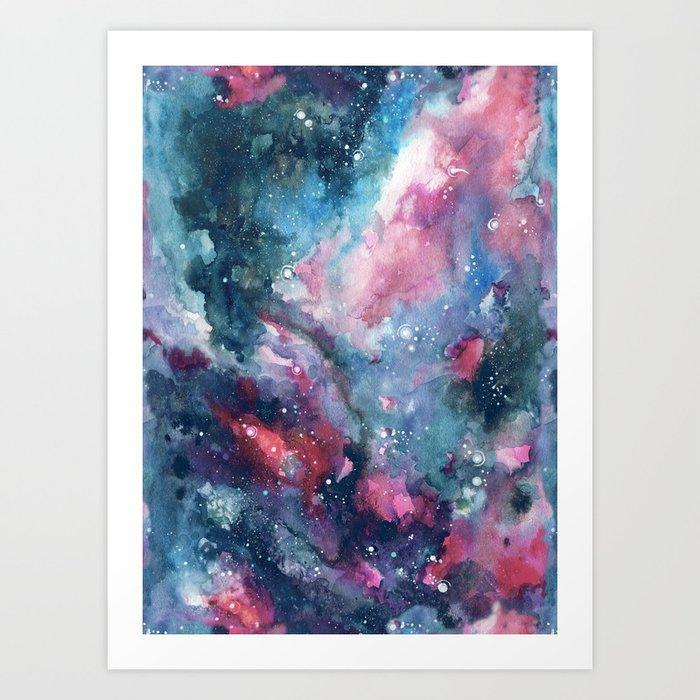 Nebula Sky Art Print