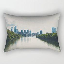 the Schuylikill River ...  Rectangular Pillow