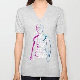 Be Water My Friend Cool Popular Pink Blue Style Unisex Best Gift T-Shirt & Merchandise Unisex V-Neck