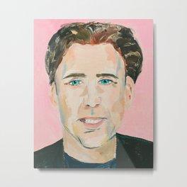 It Is Just Nicolas Cage Metal Print
