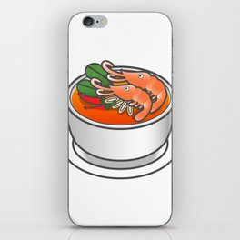 Tom Yam Koong iPhone Skin