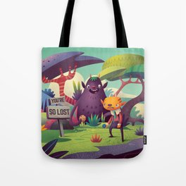 Gregory and Mr. Beet Tote Bag