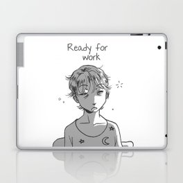 Ready for work 1 Laptop & iPad Skin