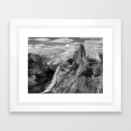 Half Dome Framed Art Print