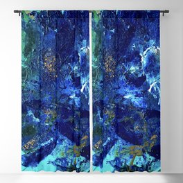 Jelly Belly of the Deep, Tiny World Environmental Collection Blackout Curtain