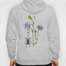 little spreading bellflower Hoody