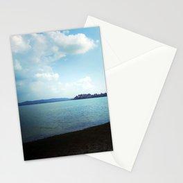 Dark And Light, Lake, Landscape Photography. Stationery Cards
