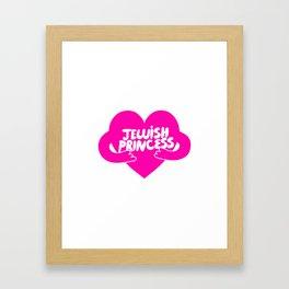 Jewish Princess Framed Art Print