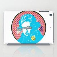 beethoven iPad Cases featuring Ludwig van Beethoven 17 by Marko Köppe
