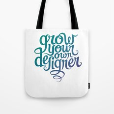 Grow Your Own Designer Tote Bag