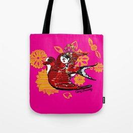 Welcoming Spring Tote Bag
