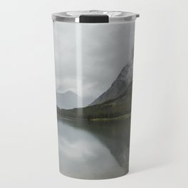 Reflection of Mountains - Glacier NP Travel Mug