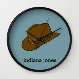 Indiana Jones Wall Clock
