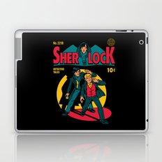 Sherlock Comic Laptop & iPad Skin