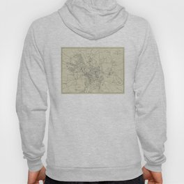 Vintage Map of Jerusalem Israel (1917) Hoody