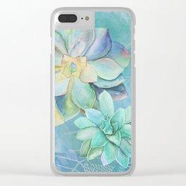 Montrose Molly Garden Clear iPhone Case