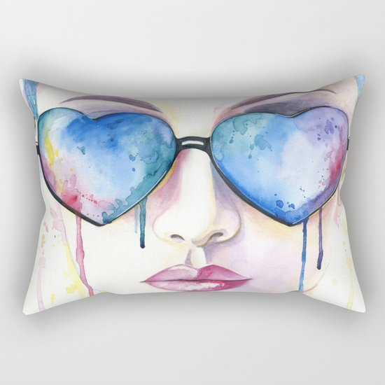 Another sunny day Rectangular Pillow