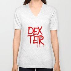word: Dexter Unisex V-Neck