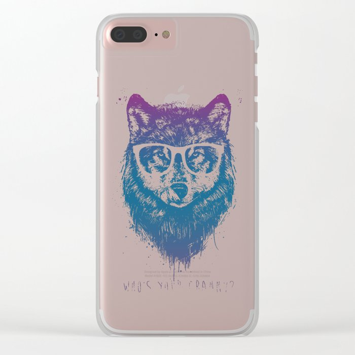 Who's your granny? Clear iPhone Case