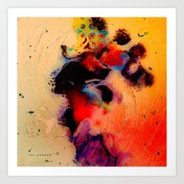 At the tempo of the carnival Art Print