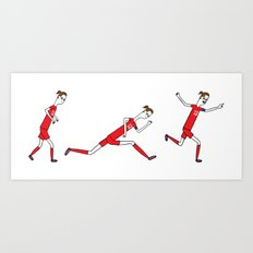 0 to 60 in under 3...goal! Art Print
