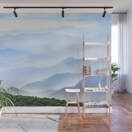 Great Smoky Mountain National Park Sunset Layers II - Nature Photography Wall Mural