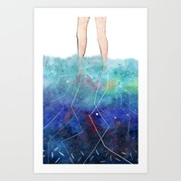 Waters Deep Art Print