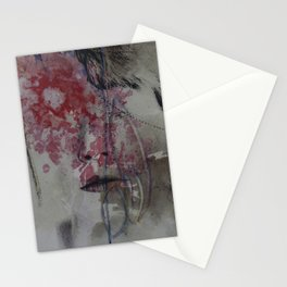 blinded by flowers Stationery Cards
