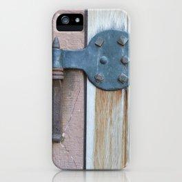 Hinge & Pin iPhone Case