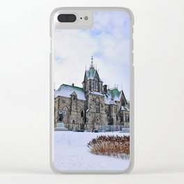Parliament Hill Clear iPhone Case