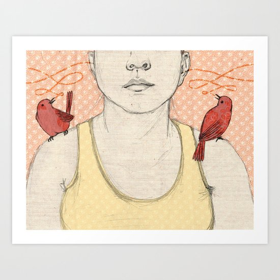 The Messengers Art Print