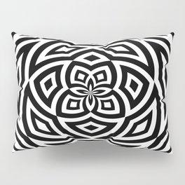 Black Box Spiral Pillow Sham