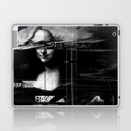 Mona Lisa Glitch Laptop & iPad Skin