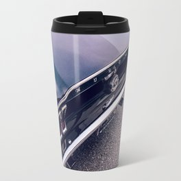 Black Mustang Travel Mug