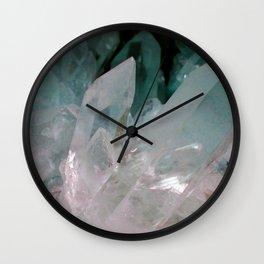 Crystal Quartz Wall Clock