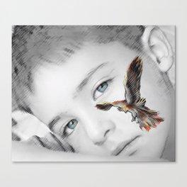 phoenix rises Canvas Print