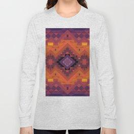 American Native Pattern No. 136 Long Sleeve T-shirt