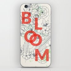 Vintage Bloom #society6 iPhone Skin