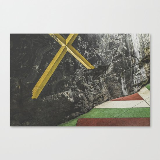 Stockholm Subway Canvas Print