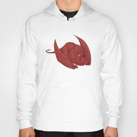smaug Hoodies featuring Baby Smaug - Textless by Kinsei