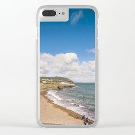 Irish sunny beach Clear iPhone Case